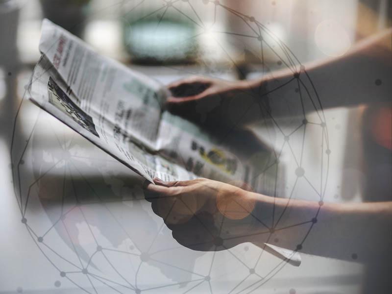 lecture de la presse