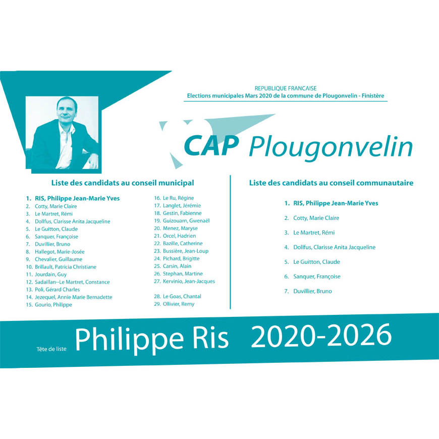 bulletin vote cap plougonvelin