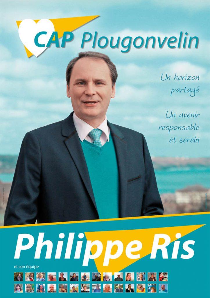 affiche cap plougonvelin philippe ris