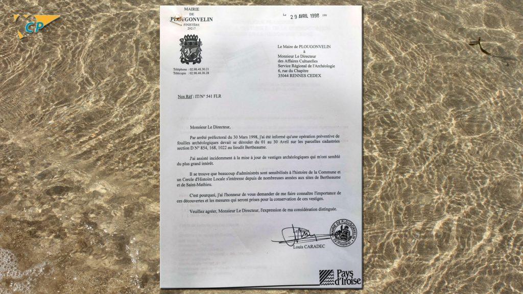 courrier mairie 1998