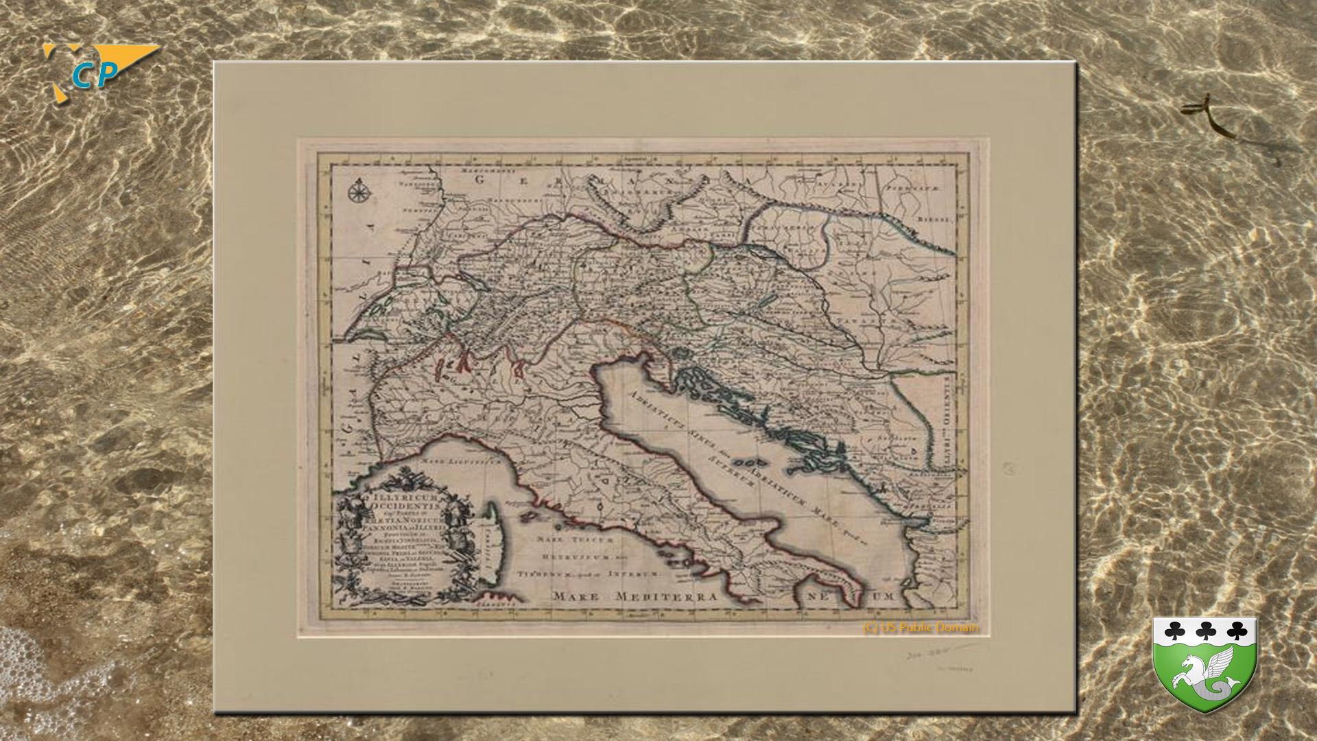 carte romaine
